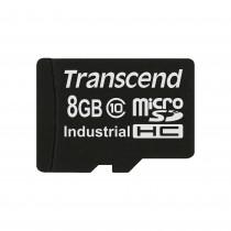 Картка пам'яті Transcend 8GB microSDHC 10 класу для промисловості з з широким діапазоном робочих температур (TS8GUSDC10I)