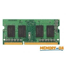 Оперативна пам'ять DDR3 SODIMM 4ГБ 1600МГц (KCP3L16SS8/4)