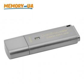 Флеш накопичувач з шифруванням Kingston DataTraveler Locker Plus G3 8ГБ (DTLPG3/8GB)