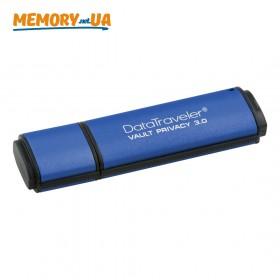 Флеш накопичувач з апаратним шифруванням Kingston DataTraveler Vault Privacy 3.0 4ГБ (DTVP30/4GB)