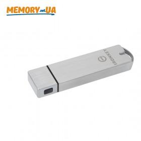 Флеш накопичувач з апаратним шифруванням і віддаленим керуванням Kingston 128GB USB 3.0 IronKey S1000 Enterprise (IKS1000E/128GB)