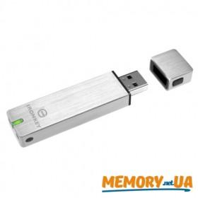Флеш накопичувач з апаратним шифруванням Kingston IronKey S250 16GB (IKS250B/16GB)