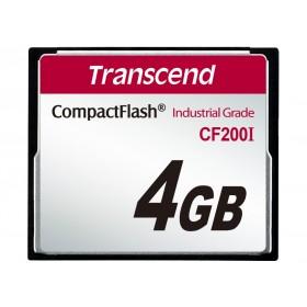 Картка пам'яті Transcend CF200I 4ГБ 200X SLC Промислового класу (TS4GCF200I)