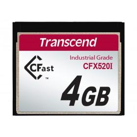 Картка пам'яті Transcend 4GB CFast 1.1 SLC Промислового класу (TS4GCFX520I)