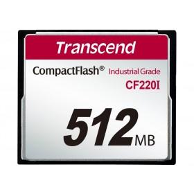 Картка пам'яті Transcend CF220I 512МБ 220X SLC Промислового класу (TS512MCF220I)