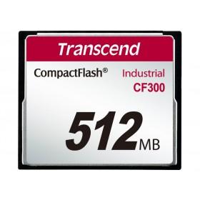 Картка пам'яті Transcend CF300 512МБ CF 300X SLC Промислового класу (TS512MCF300)