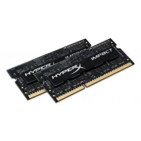 HyperX Impact Оперативна пам'ять 8GB DDR3L−1600MHz SO-DIMM (HX316LS9IBK2/8)