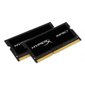 HyperX Impact Оперативна пам'ять 16GB DDR3L−1600MHz SO-DIMM (HX316LS9IBK2/16)