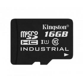 Картка пам'яті Kingston 16ГБ microSDHC Class 10 UHS-I Промислового класу (SDCIT/16GBSP)