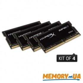HyperX Impact Оперативна пам'ять 64GB DDR4−2400MHz SO-DIMM (HX424S15IBK4/64)