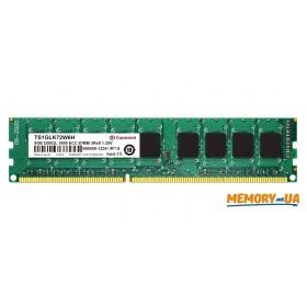 Оперативна пам'ять DDR3L ECC UDIMM 8GB (TS1GLK72W6H)
