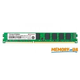 Оперативна пам'ять DDR3L ECC UDIMM 8GB (TS1GLK72W6HL)