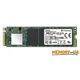 SSD накопичувач Transcend® MTE510T 256ГБ M.2 3D TLC Промислового класу (TS256GMTE510T)