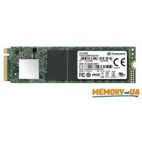 SSD накопичувач Transcend® MTE510T 512ГБ M.2 3D TLC Промислового класу (TS512GMTE510T)
