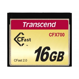 Картка пам'яті Transcend CFX700 16ГБ CFast 2.0 700X SLC Промислового класу (TS16GCFX700)