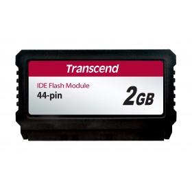 Модуль флеш-пам'яті (вертикальний) Transcend 2ГБ IDE 44PIN SLC з SMI Промислового класу (TS2GPTM720)