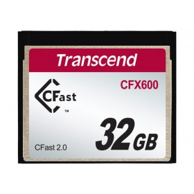 Картка пам'яті Transcend CFX600 32ГБ CFast 2.0 600X MLC Промислового класу (TS32GCFX600)