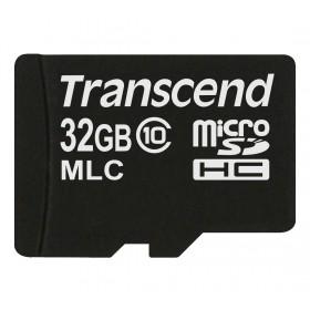 Картка пам'яті Transcend 32ГБ microSDHC Class 10 24МБ/с 22МБ/с MLC Промислового класу (TS32GUSDC10M)