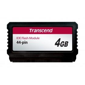 Модуль флеш-пам'яті (вертикальний) Transcend 4ГБ IDE 44PIN SLC з SMI Промислового класу (TS4GPTM720)