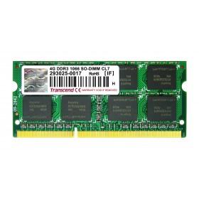 Оперативна пам'ять DDR3 SODIMM 4GB 1066MHz (TS512MSK64V1N)